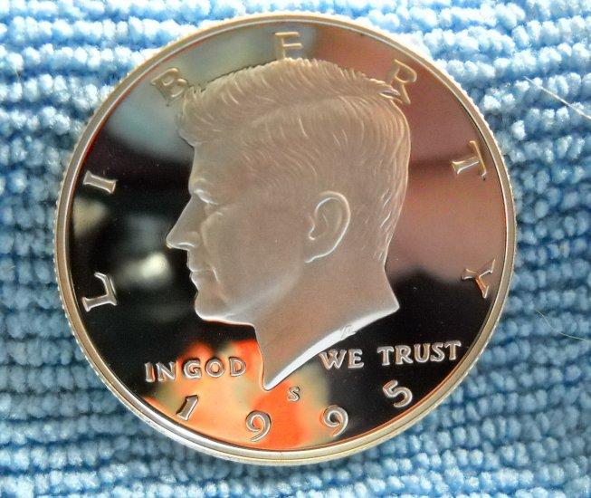 1995-S Kennedy Silver Half Dollar, **SILVER PROOF**