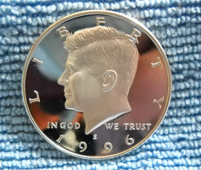 1996-S Kennedy Silver Half Dollar, **SILVER PROOF**