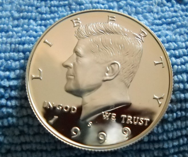 1999-S Kennedy Silver Half Dollar, **SILVER PROOF**