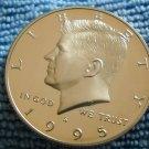 """1995-S Kennedy Half Dollar.  """"CLAD PROOF"""""""