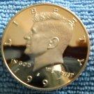 """1997-S Kennedy Half Dollar. """"CLAD PROOF"""""""