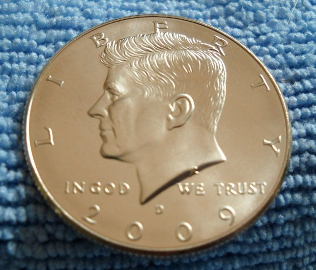"""2009-D Kennedy Half Dollar. """"CHOICE BU"""""""