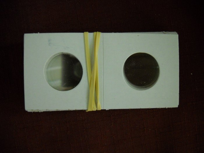 """2x2 Coin Holder, fits """"Quarters and Nickels"""""""
