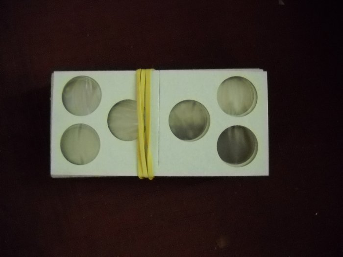 "2x2 Coin Holder, ""3 Coin Holder"", ""Fits Pennies/Dimes"""