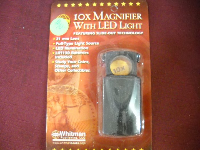 10 Power Magnifier with Light.
