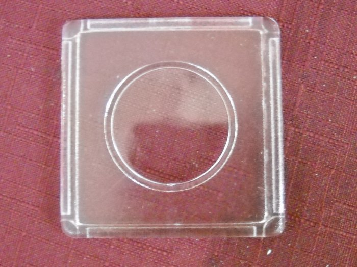 2x2, Clear Plastic Holder, Snap Together.