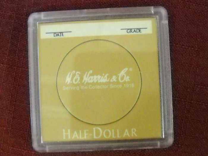 2x2 Harris plastic coin holder, sold in lot's of 5.