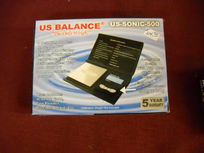 Pocket Scale, U.S. Balance model.