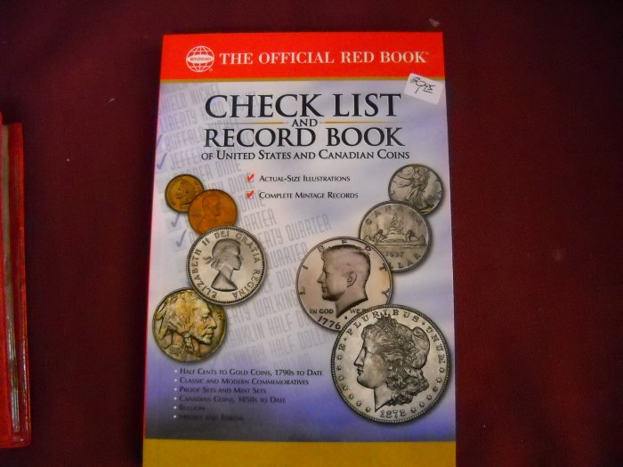 Check List and Record Book, The Official Red Book.