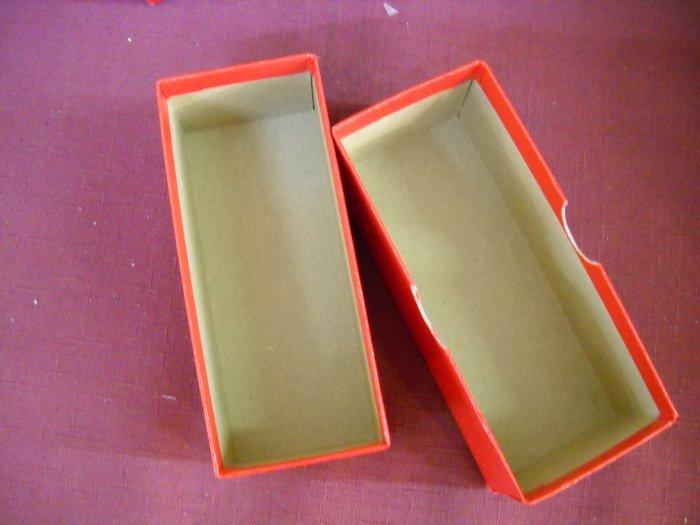 "2x2 Coin Holder Box, Short ""6"" long. Free Shipping."