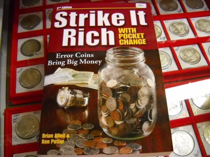 "Soft Cover Book, ""Strike It Rich""."