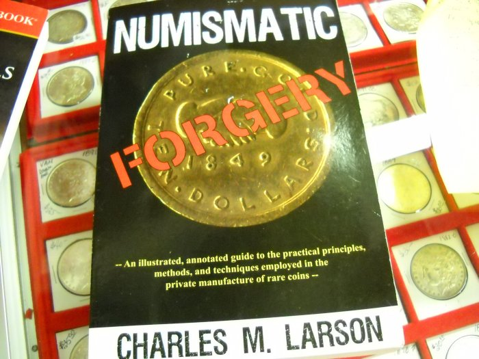 Soft Cover Book, Numismatic Forgery