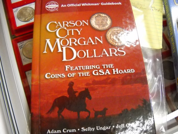 Hard Cover, Book, Guide to Carson City Morgans.