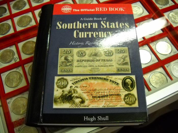 """Book, Soft Cover, """"Red Book guide on Southern States"""""""