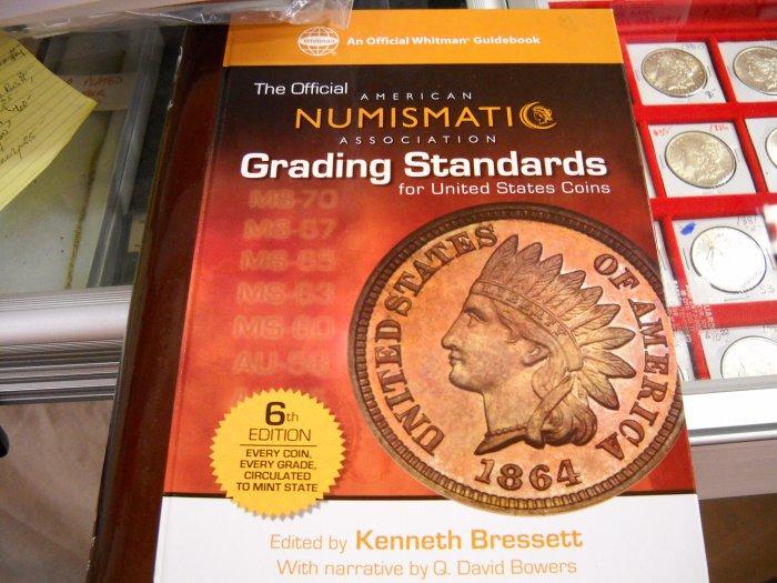"Book, Hard Cover. ""Grading Standards"""