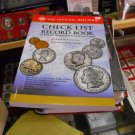 """Book, Soft Cover. """"Check List & Record Book"""" Coins"""