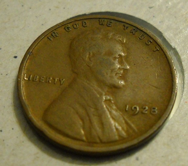 1928 Lincoln Wheat Cents