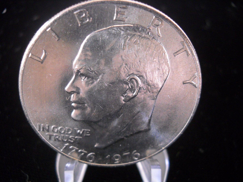 1976-P Eisenhower Brilliant UN-Circualted Dollar.