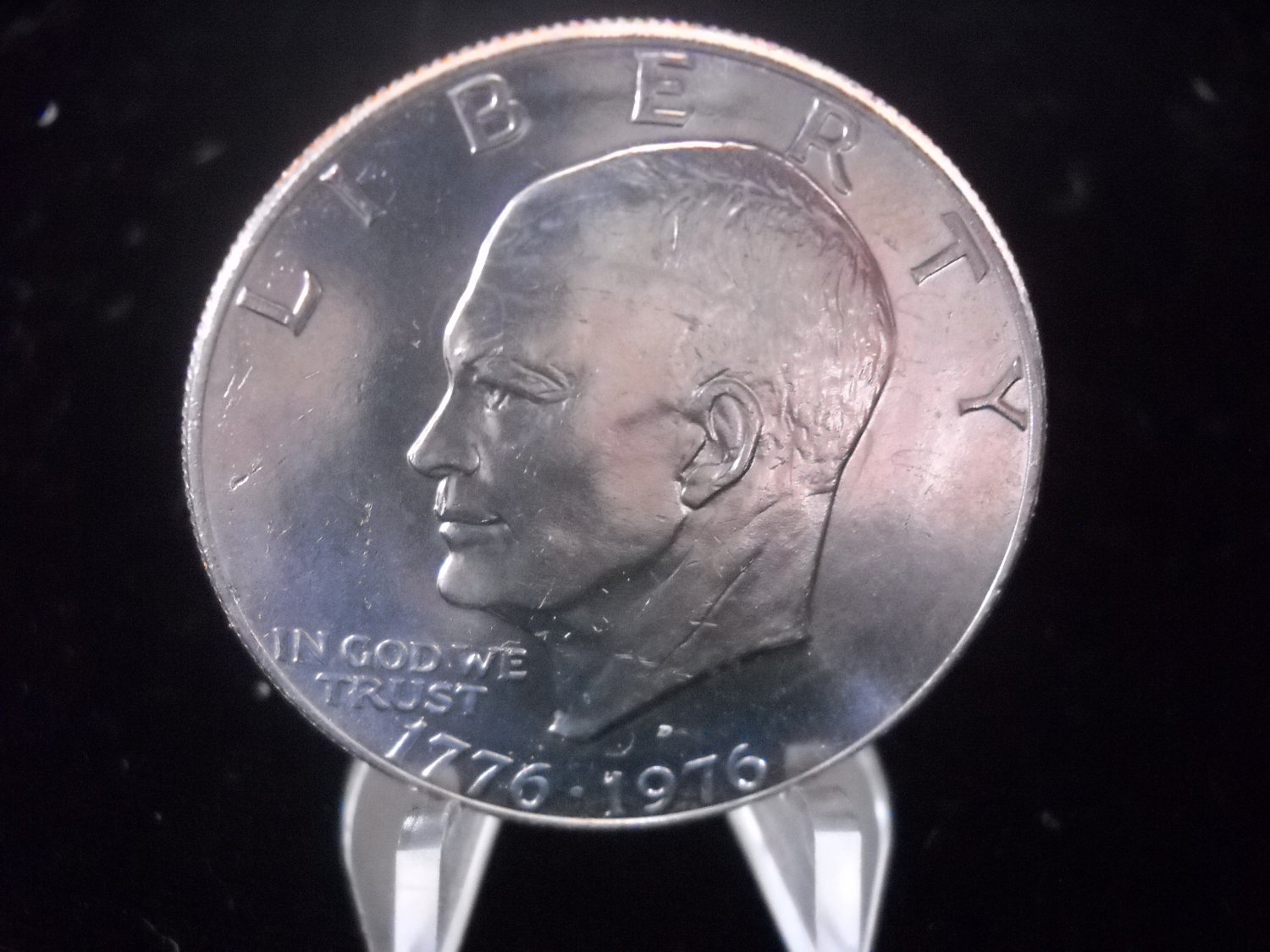 1976-D Eisenhower Brilliant UN-Circualted Dollar.