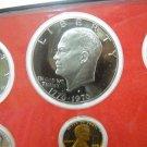 "1976-S Eisenhower Proof Dollar.  ""S"" Mint."
