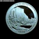 2010-S Washington Quarter, National Parks. Yosemite Silver Proof.