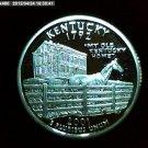 "2001-S Washington Qaurter, SILVER PROOF. ""Kentucky"""