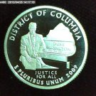 "2009-S Washington Quarter. SILVER PROOF. ""District of Colombuia"""