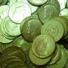 1965-70 Kennedy Halve Dollar, Half Roll's, 10 Coin Lot's. $5.00 Face. Various.