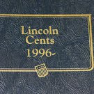 "1996 to 2012 Lincoln Penny Collection.  ""P"", ""D"", ""S"" In Whitman Coin Album."