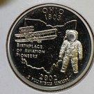 2002 Washington State Quarter, 3 Coin Set, P/D/S. OHIO.,  B.U./Proof.
