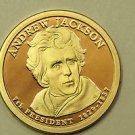 2008 Presidential Dollar, Andrew Jackson. P/D/S, 3 Coin Collection.  Choice Set.