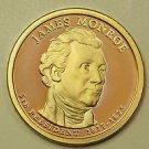2008 Presidential Dollar,James Monroe. P/D/S, 3 Coin Collection.  Choice Set.