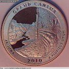 "2010 Washington Quarter. ""America The Beautiful"",  Grand Canyon. 3 Coins."