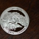 2011-S Washington Proof Quarter, National Parks.OLYMPIC. Washington.