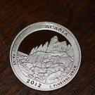 2012-S Washington Proof Quarter, National Parks.  ACADIA,  Maine.