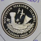 2009 Washington Quarter, Northern Mariana Territory Quarters. 3 Coins P/D/S