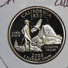 2005 Washington State Quarter, 3 Coin Set, P/D/S. California ,  B.U./Proof.