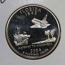 2004 Washington State Quarter, 3 Coin Set, P/D/S. Florida ,  B.U./Proof.