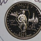 2003 Washington State Quarter, 3 Coin Set, P/D/S.  Illinois.,  B.U./Proof.