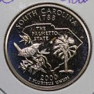 2000 Washington State Quarter, 3 Coin Set, P/D/S. South Carolina,.  B.U./Proof.