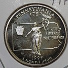 1999 Washington State Quarter, 3 Coin Set, P/D/S.  Pennsylvania. B.U./Proof.