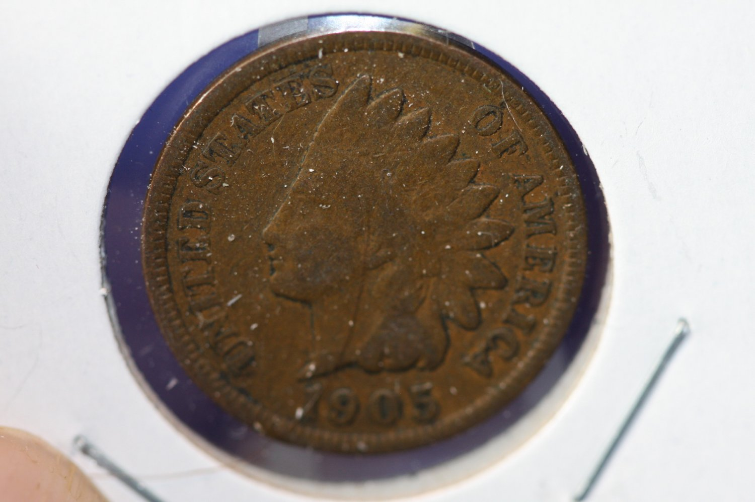 1905 Indian Head Penny - Average Circulated Coin - #4781