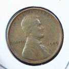 1909 Lincoln Wheat Penny - Very Good Circulated Coin  #4801