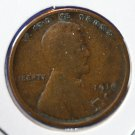 1916-S Lincoln Wheat Cents.  About Good Circulated Coin.  #4845