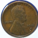 1916-S Lincoln Wheat Cents.  Very Good Circulated Coin.  #4851