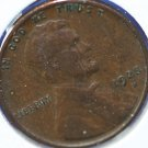 1925-D Lincoln Wheat Penny. Fine Circulated Coin.  #4919