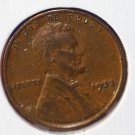 1932 Lincoln Wheat Penny.  Very Good Circulated Coin.  #4979