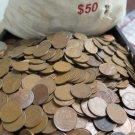 Lincoln Wheat Pennies.  Rolls.  1 Roll per order.