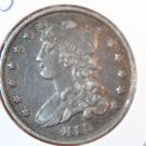 1835 Capped Bust Quarter.  25C Piece.  Nice Problem Free Coin.  BX5264