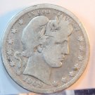 1909-D Barber Quarter. Very Good Circulated Condition.  BX-5532